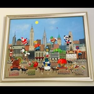 The most beautiful Acrylic Macy's Parade Painting.